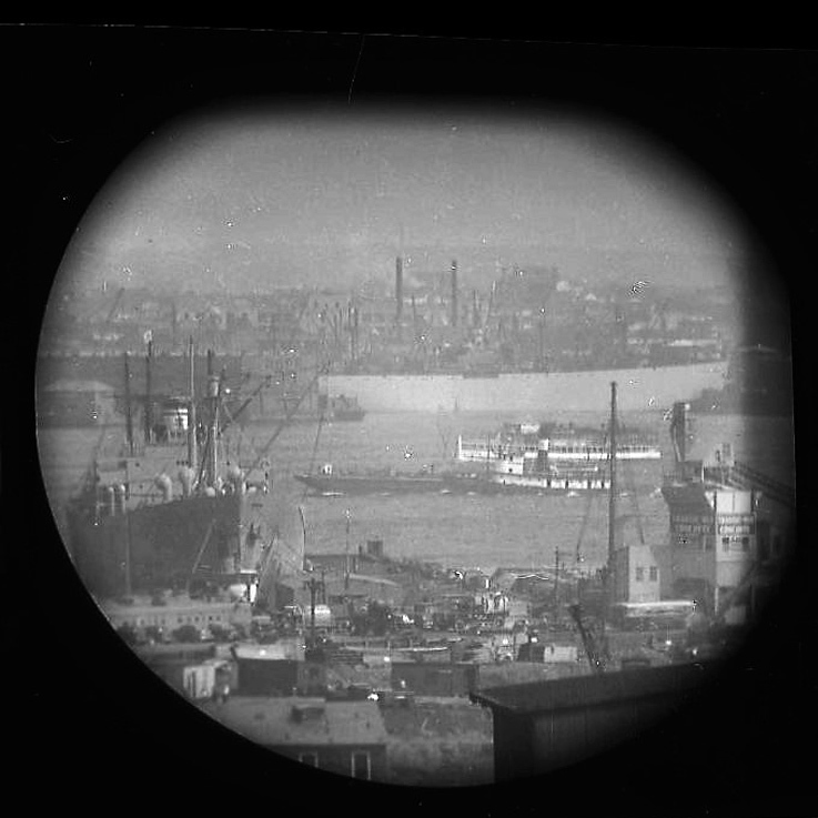 A Window on the East River II (telescope view)