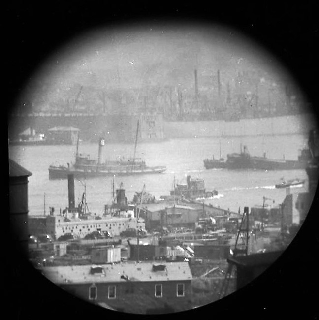 A Window on the East River (telescope view) XI