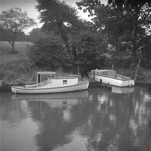 Cabin Boats in Backwater I