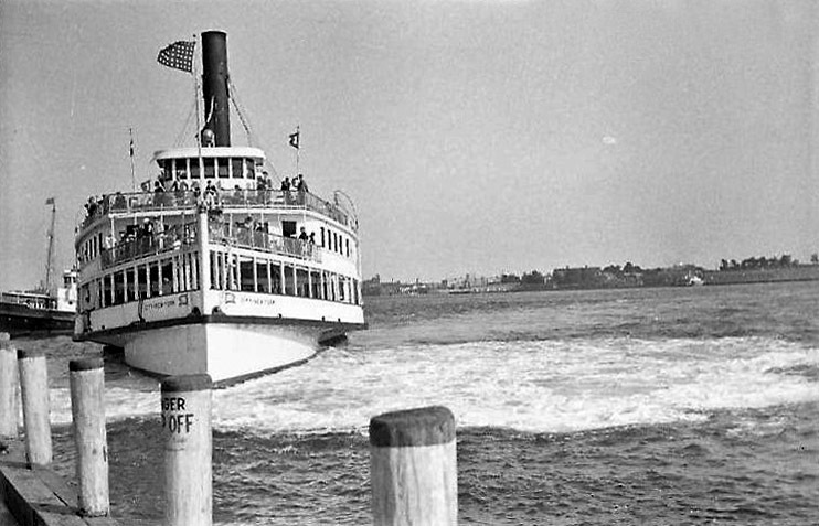 At the Battery - Coney Island Boat II