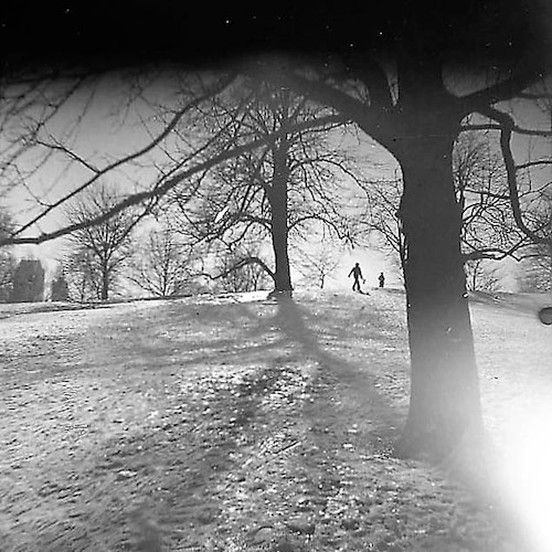 Central Park with Snow I