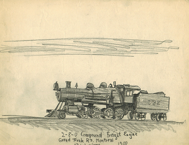 2-8-0 Compound Freight Engine