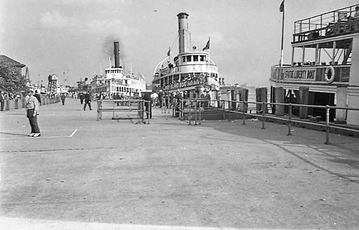 At the Battery, Coney Island Boat I