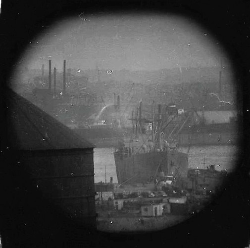 A Window on the East River (telescope view) XII