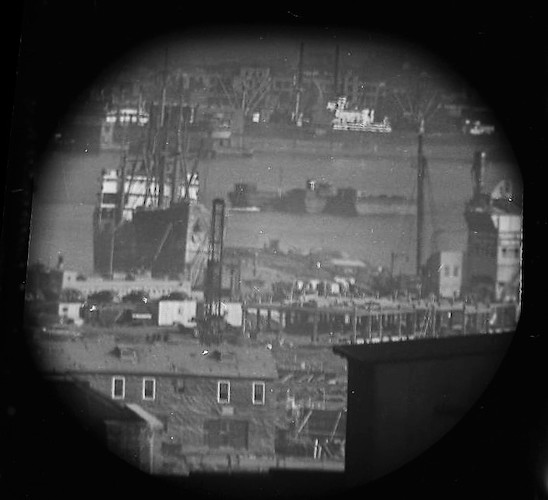 A Window on the East River (telescope view) I