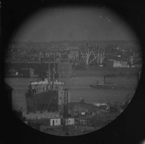 A Window on the East River (telescope view) VII