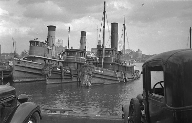 Before the War - Three Tugs (