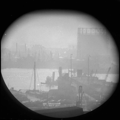 A Window on the East River IV (telescope view)