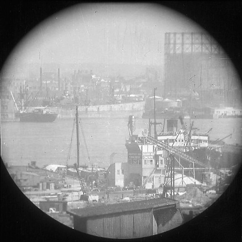 A Window on the East River V (telescope view)