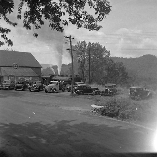 Connecticut general Store, filling Station and R.R. Depot
