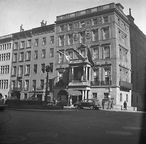 Apartment House East Side of Fifth Avenue