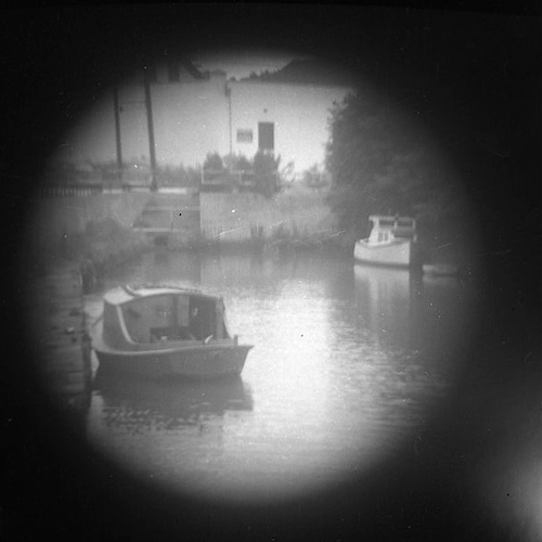 Backwater (telescope view) II