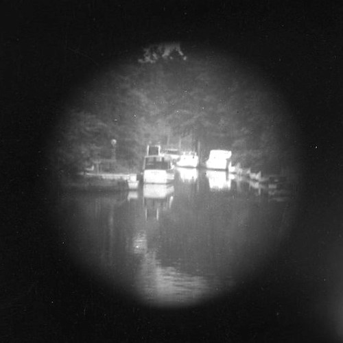 Backwater (telescope view) III
