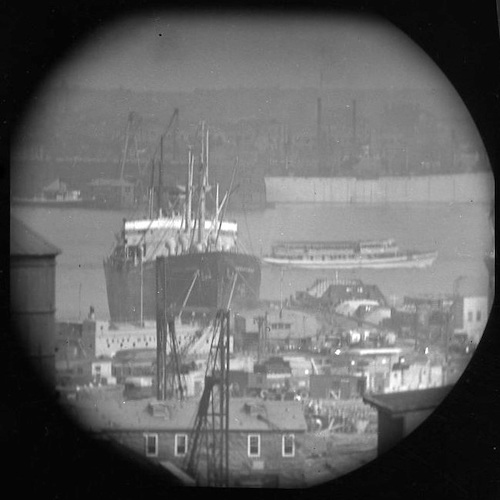 A Window on the East River (telescope view) IV