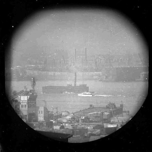 A Window on the East River (telescope view) V