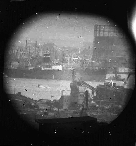 A Window on the East River (telescope view) IX