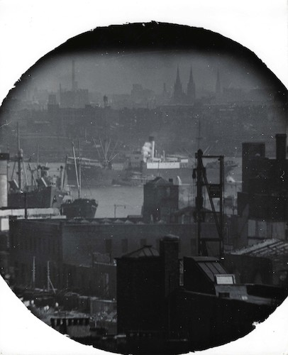 A Window on the East River I (telescope view)